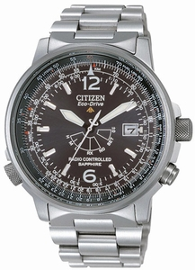 Citizen heren horloge Eco-Drive Radio Controlled AS2031-57E-0
